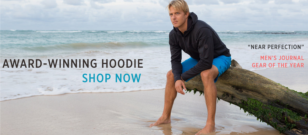 Mens Surf and Travel Hoodie Bluesmiths Kula