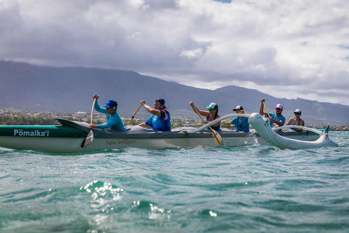 Outrigger Canoe Maui Hawaii Bluesmiths