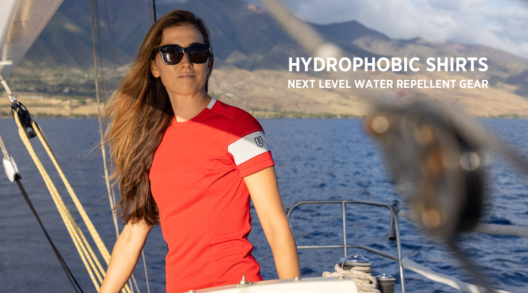Hydrophobic Water-Repellent Shirts by Bluesmiths