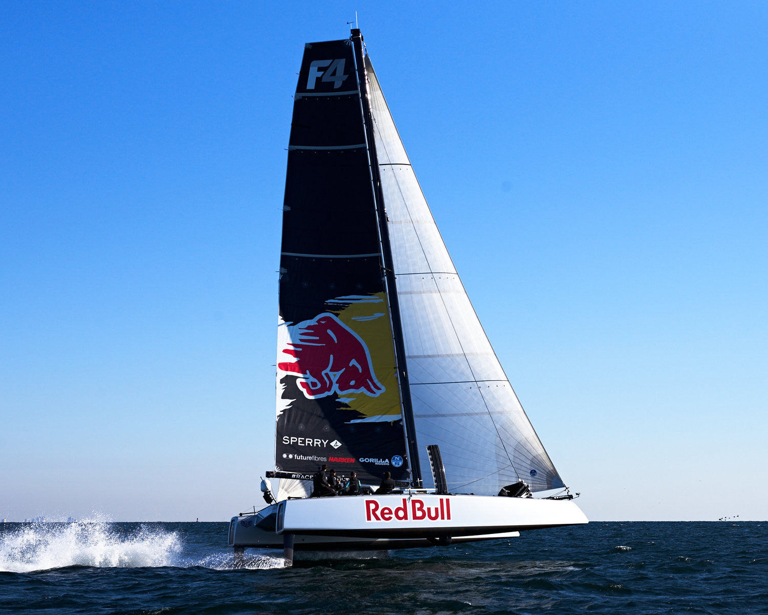 Sptihill Falcone Rice Hydrofoil Sailing From The America S Cup T Bluesmiths The World S Finest Waterwear