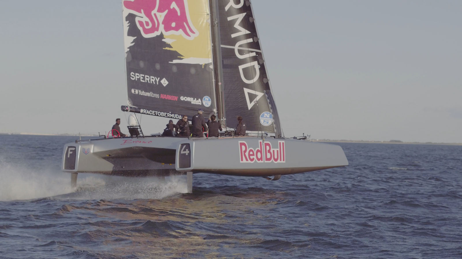 Open Ocean Sailing - Flying on Water - Bluesmiths NYC Spithill Falcone