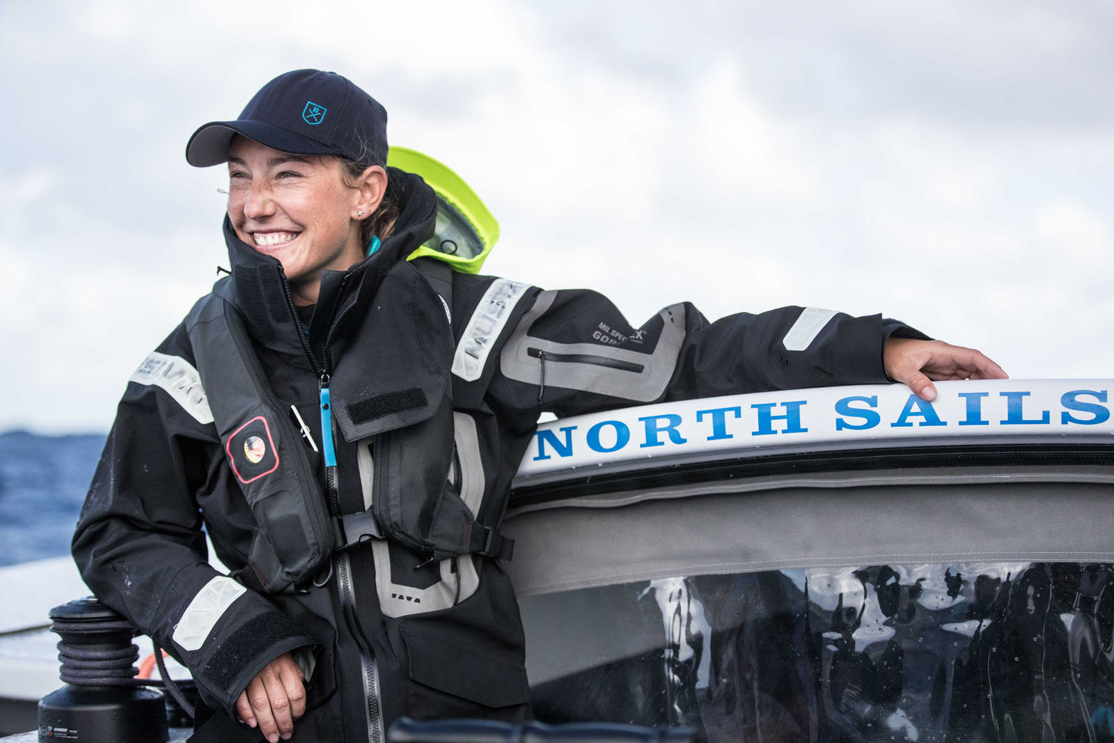 Emily Nagle Sailor Flying on  Water NYC to Bermuda Red Bull Next Generation - Bluesmiths