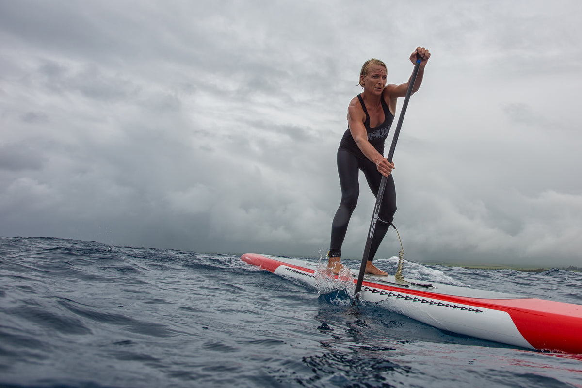 Bluesmiths Paddle Imua 2016 Event Winner Sonni Hoenscheid