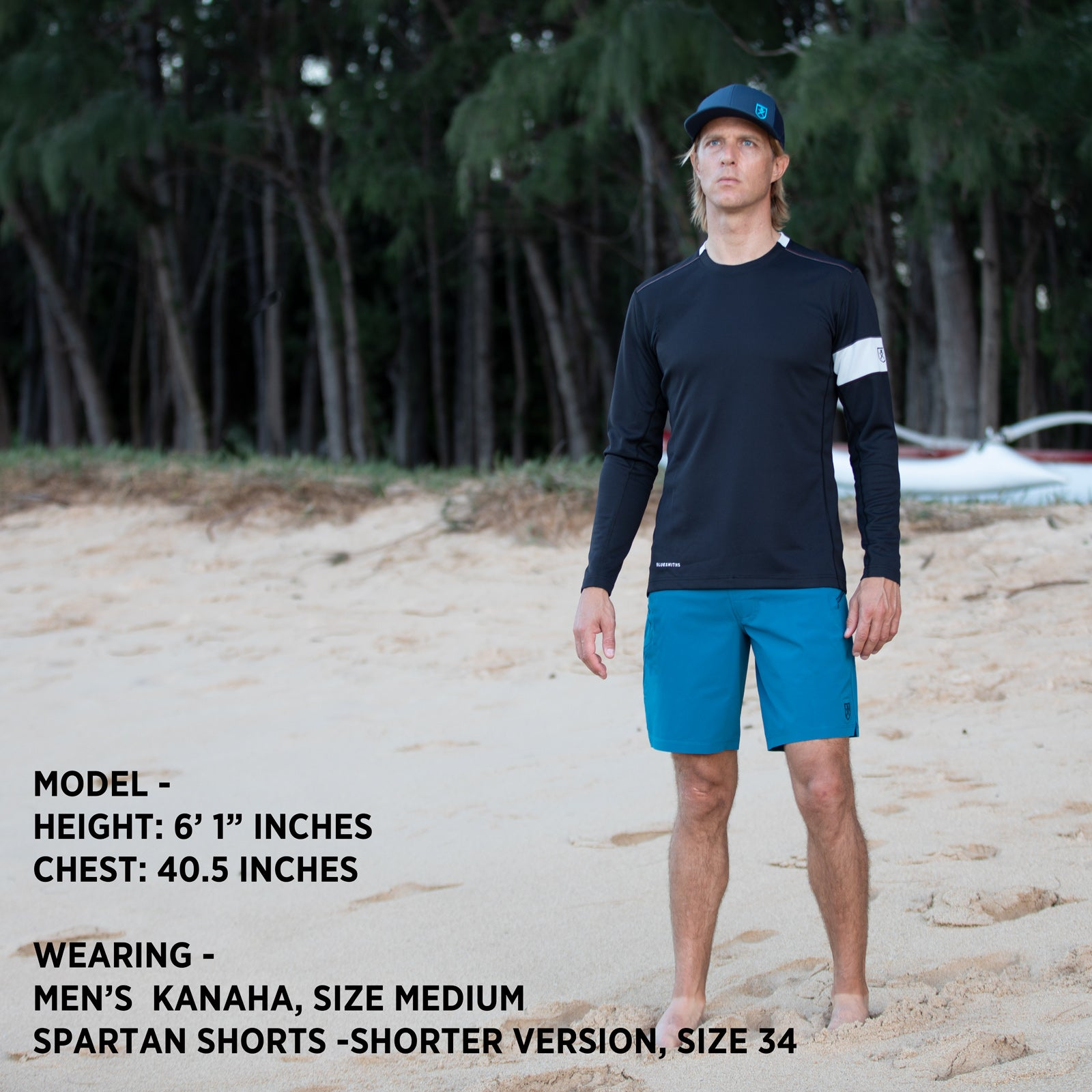 Mens Kanaha Fit Bluesmiths
