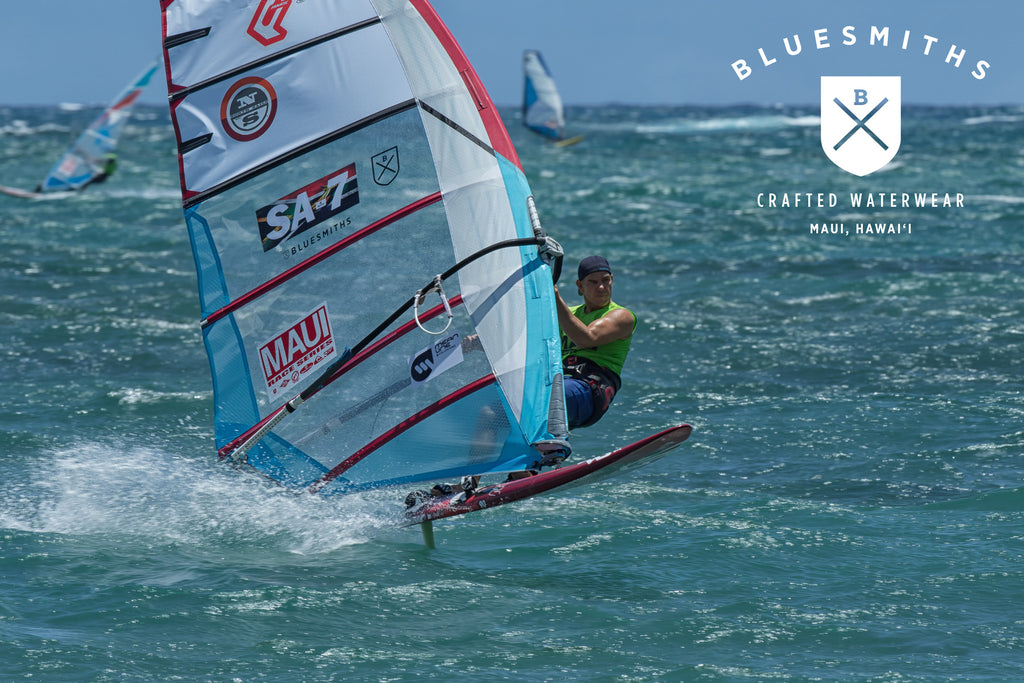 Peter Slate Maui Race Series Winner Bluesmiths Spartan Shorts
