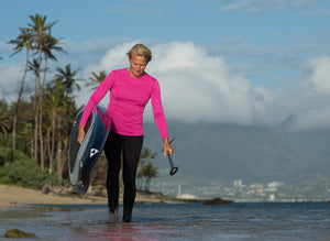 The Kanaha Hydrophobic Shirt for Women - The World's Finest Waterwear | BLUESMITHS