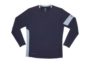 The Kanaha Hydrophobic Shirt for Men in Rich Navy (Storm Blue) - The World's Finest Waterwear | BLUESMITHS