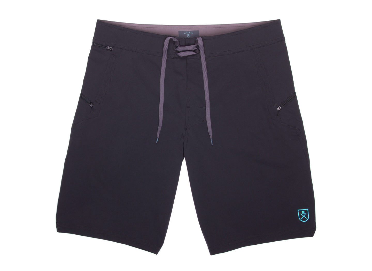 The Spartan Board Shorts in Almost Black - The World's Finest Surf Trunks | BLUESMITHS