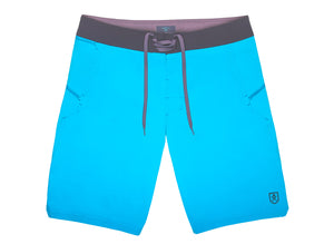 The Spartan Board Shorts in Hawaiian Ocean & Almost Black - The World's Finest Waterwear | BLUESMITHS