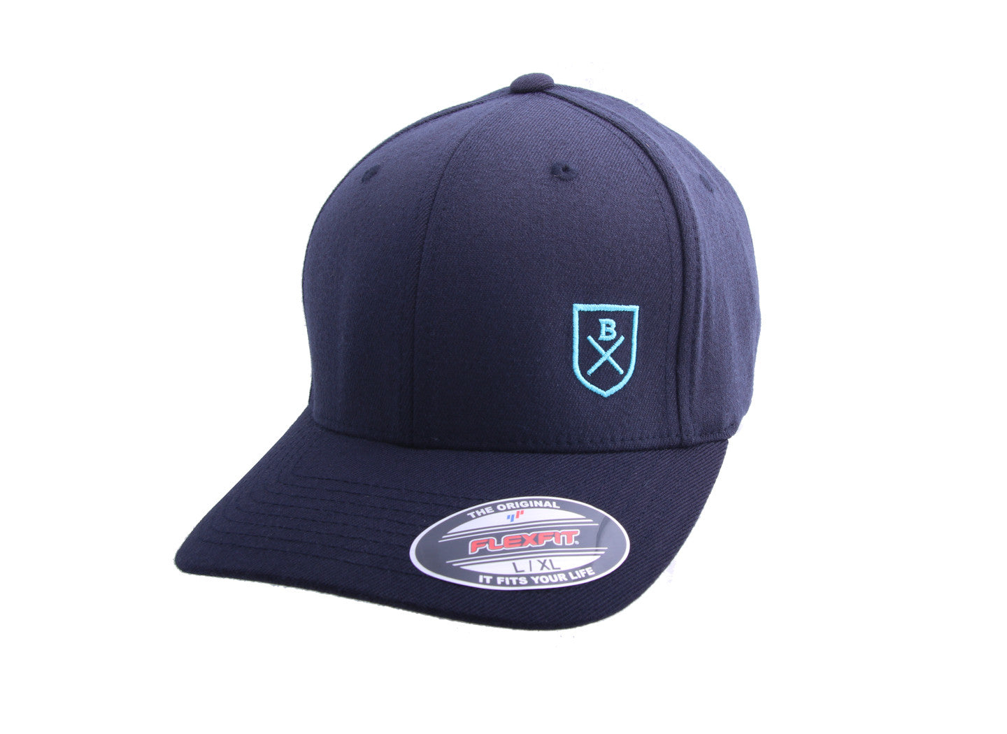 Embroidered Shield Classic Cap in Navy - The World's Finest Waterwear | BLUESMITHS