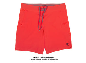 Bluesmiths Pele Red Board Shorts