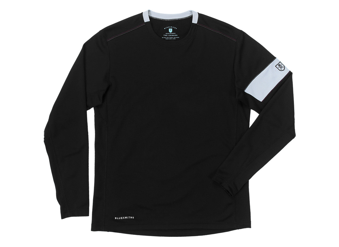 305587268 ... The Kanaha Hydrophobic Shirt for Men in Black (White Rock) - The  World's Finest ...