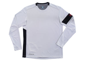 The Kanaha Hydrophobic Shirt for Men in White Rock (Black) - The World's Finest Waterwear | BLUESMITHS