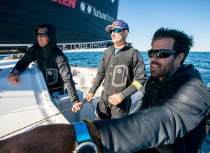 Jimmy Spithill & Shannon Falcone - Mission to Fly On Water - Hydro Foil Sailing NYC to Bermuda (Red Bull + Bluesmiths)