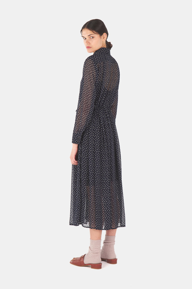 Dotty shirt dress