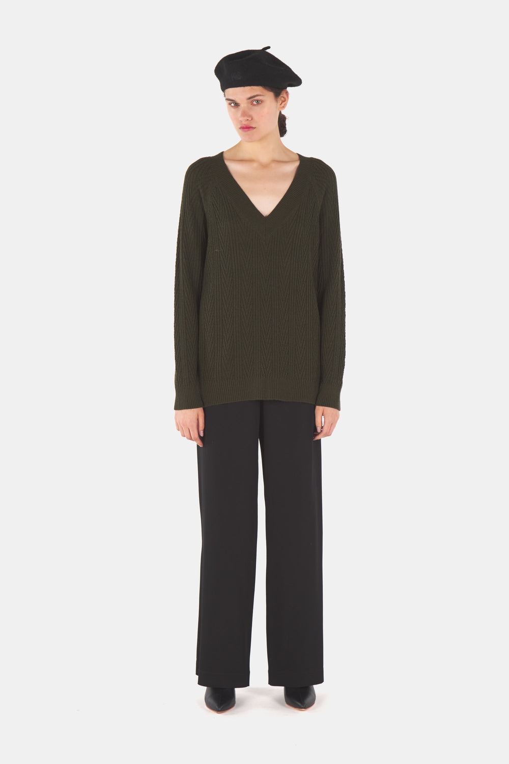 Gloria v neck jumper