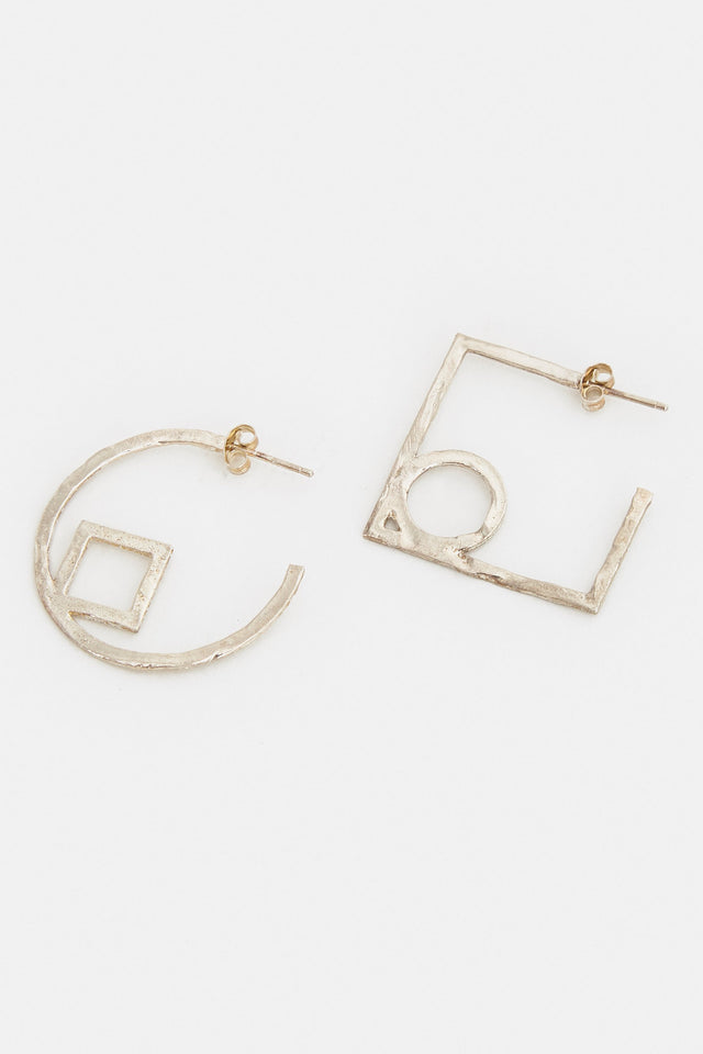 Circle Square Hoops
