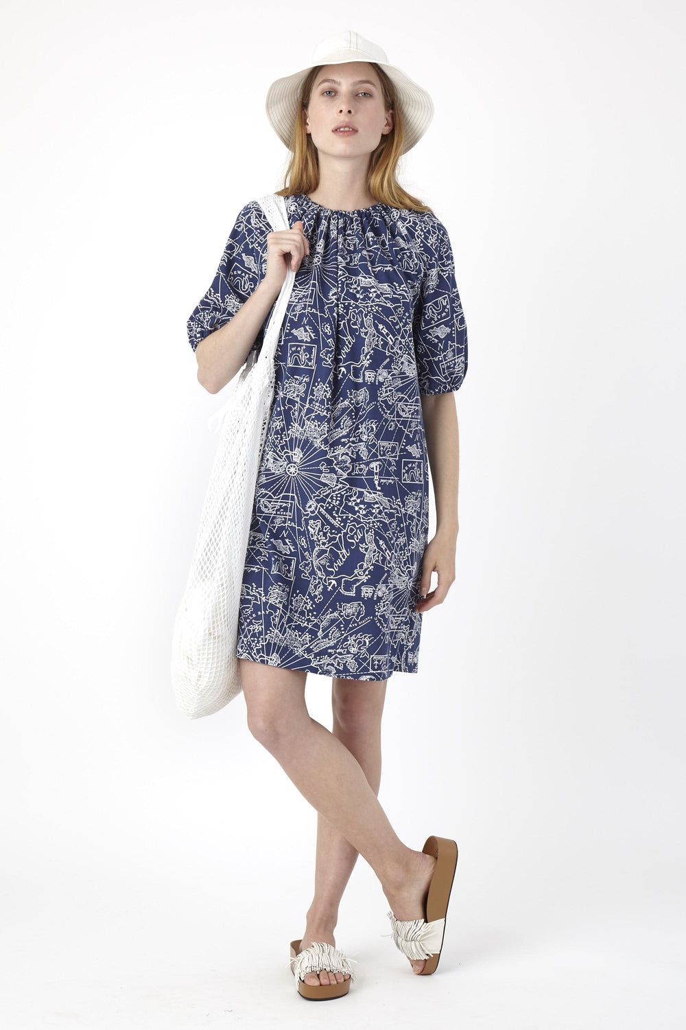 South seas blouson dress