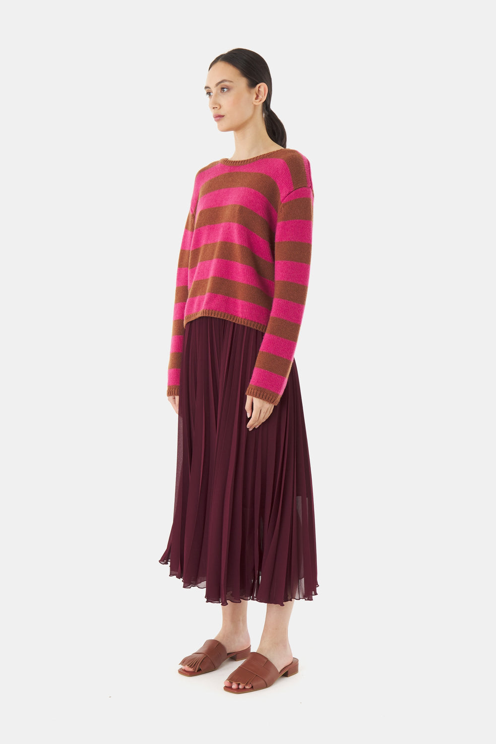 Woolly stripe jumper
