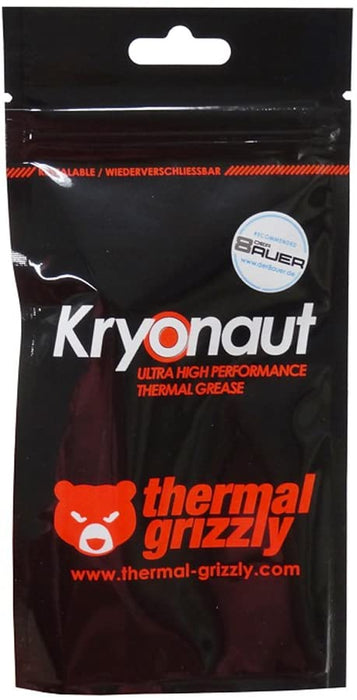 Thermal Grizzly Kryonaut Thermal Paste, 1g [Made In Germany]
