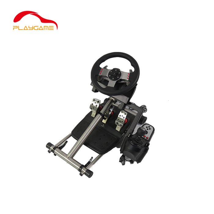 PlayGame GY-008 Steering Wheel Stand - Black