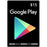 Google Play Card 15$ for USA Acoount Only