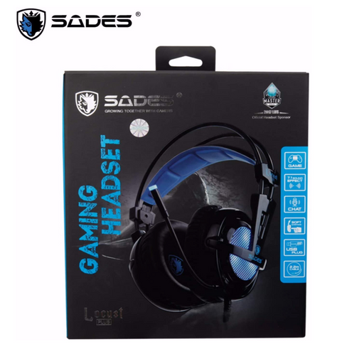 SADES Locust Plus SA 904 RGB Gaming Headset