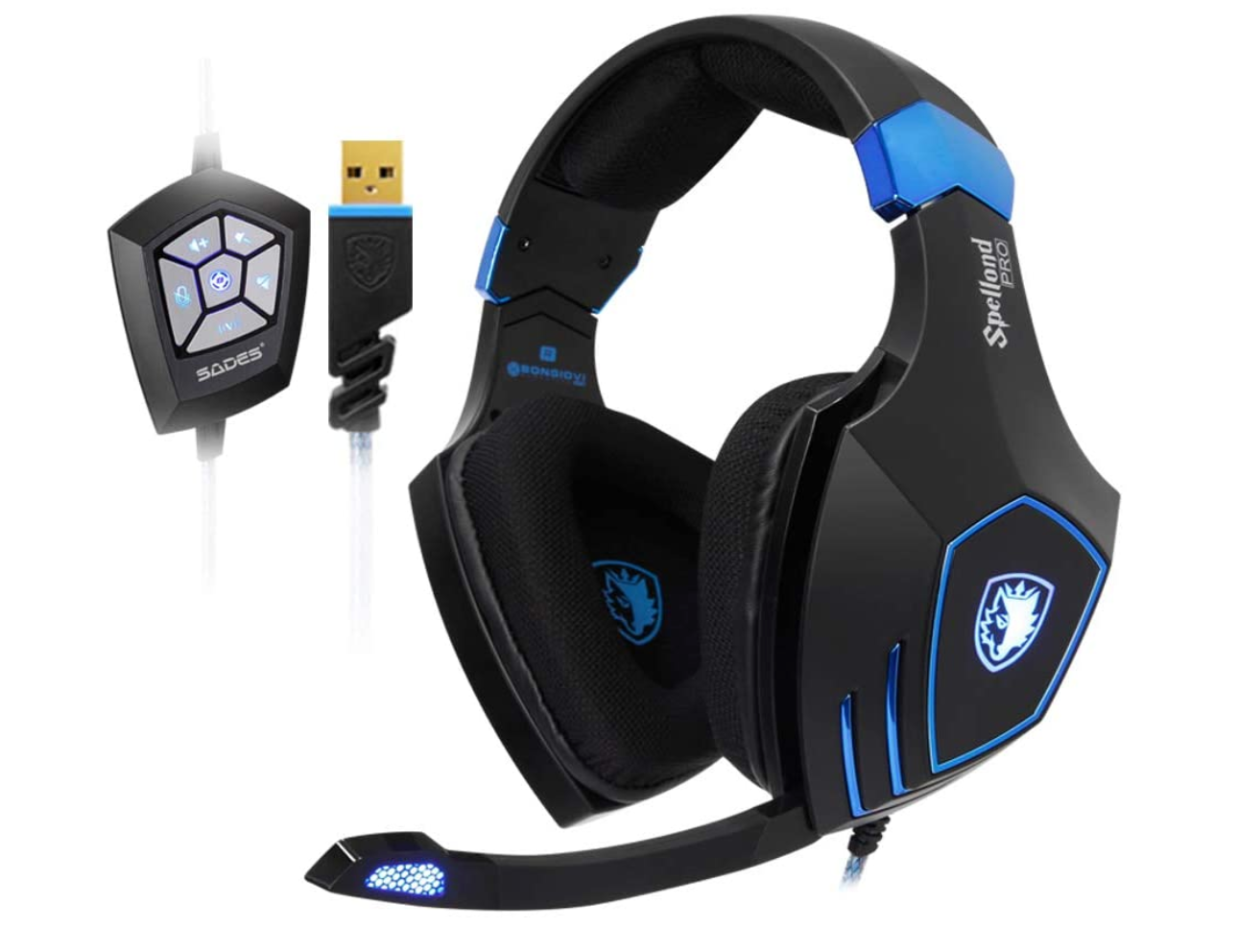 SADES SPELLOND PRO SA-910Pro Gaming Headset With RGB