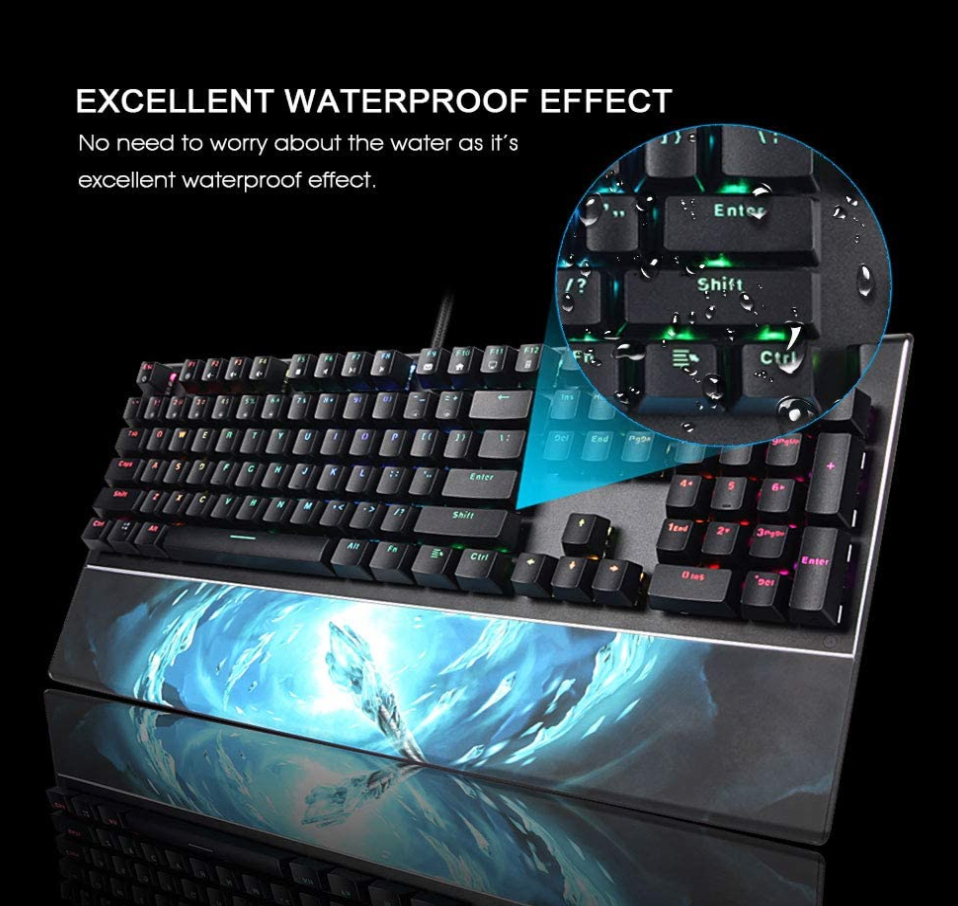 SADES Frost Staff (Mechanical Gaming Keyboard) K14