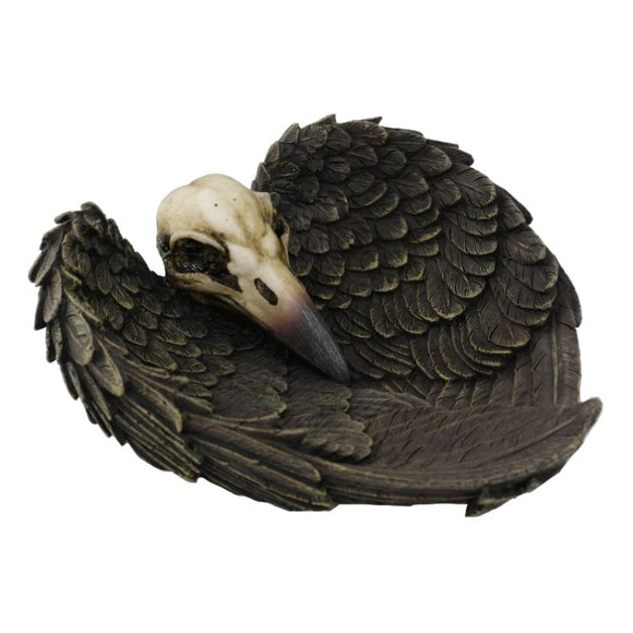Raven Skull & Wings Tray
