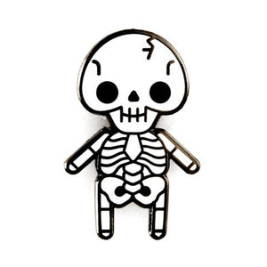 Baby Skeleton Enamel Pin
