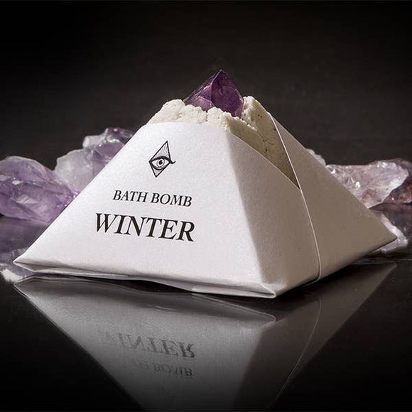 Winter Pyramid Crystal Bath Bomb