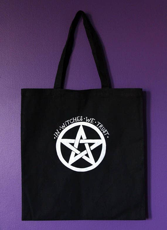 In Witches We Trust Tote Bag