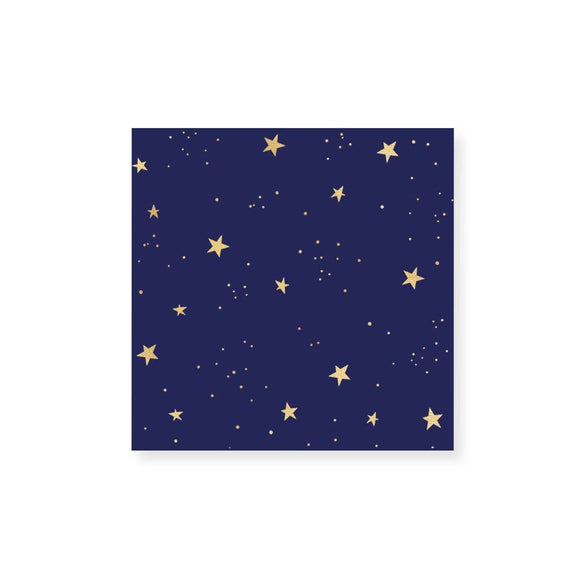 Starry Night Gold Foil Matches