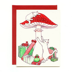 Mushroom Cats Gift Card Box Set