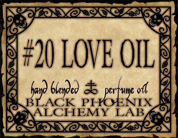 { #20 Love Oil } Black Phoenix Alchemy Lab Fragrance