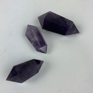 Double Terminated Small Amethyst Point