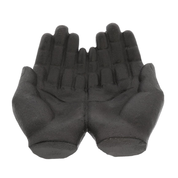 Large Cast Iron Cupped Hands