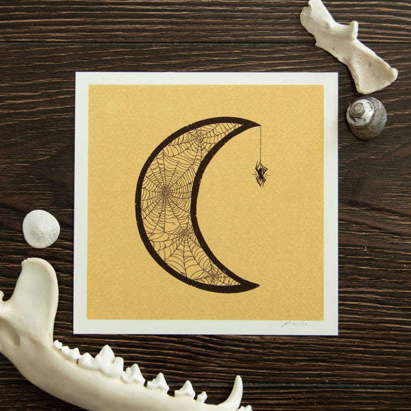 Widow Moon Giclee Mini Print