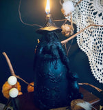 Hedge Witch Scented Black Candle
