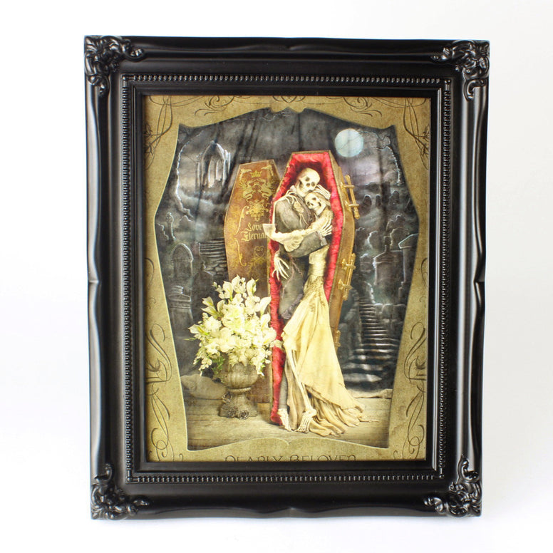 { Dearly Beloved } Exclusive LTD Ransom & Mitchell Framed Metallic Print