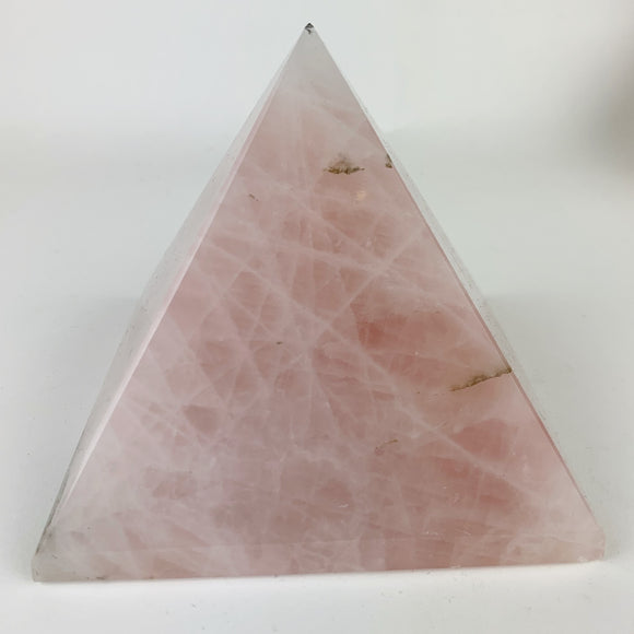 Rose Quartz Pyramid Large 5