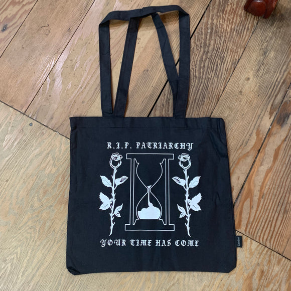 RIP Patriachary Black Tote Bag