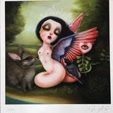 { Nymph } Jennybird Alcantara Giclee Print Framed Numbered and Signed