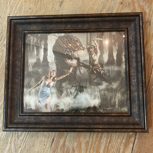 "{ Monster Hunter } Ransom & Mitchell Photo Art Print Framed 8"" X 10"""