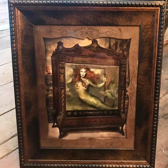 { Fiji Mermaid } Ransom & Mitchell Photo Art Print Framed 8