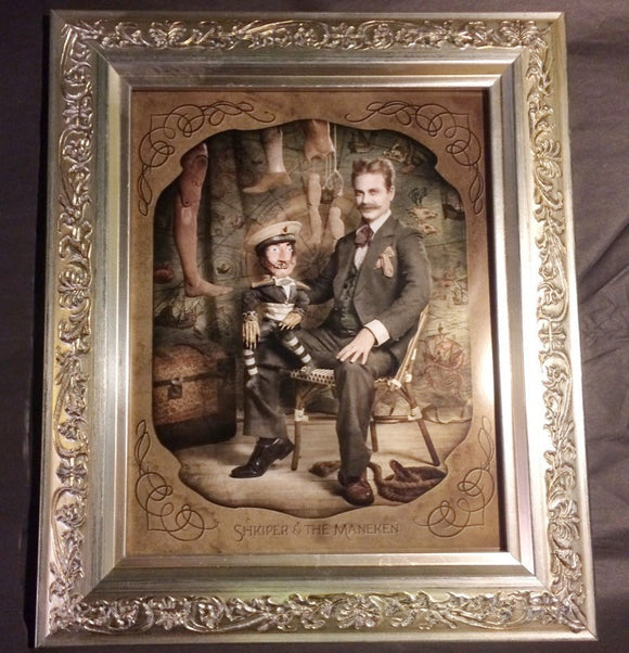 { Shkiper and the Maneken } Ransom & Mitchell Photo Art Print Framed 8