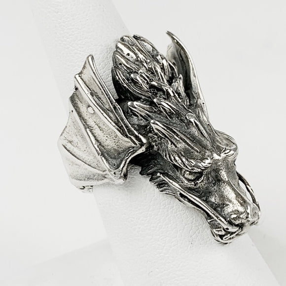 Flying Dragon Sterling Ring