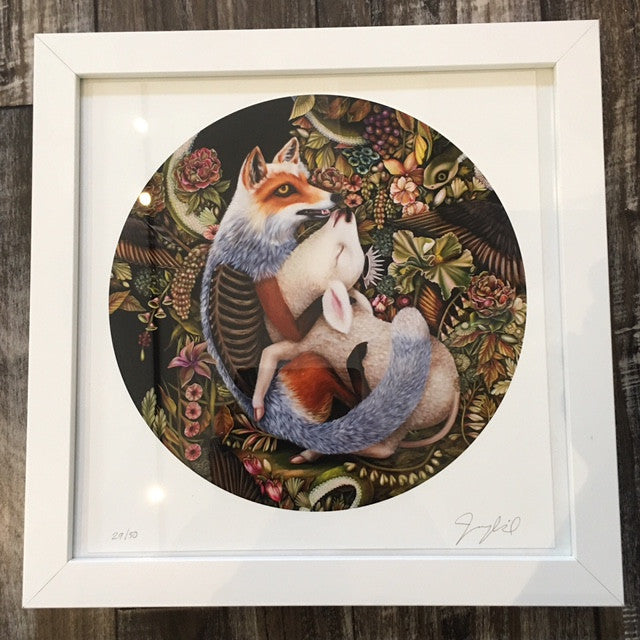 { The Surrender } Jennybird Alcantara Print Signed, Numbered, And Framed