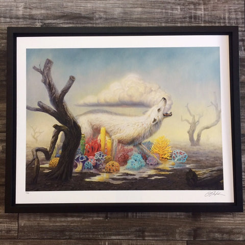 { Rainsong } Martin Wittfooth Giclee Print Signed Numbered and Framed
